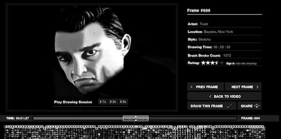 Google Chrome & The Johnny Cash Project